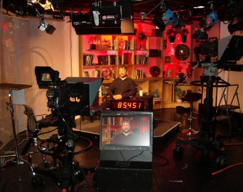 MSNBC remote studio in DC