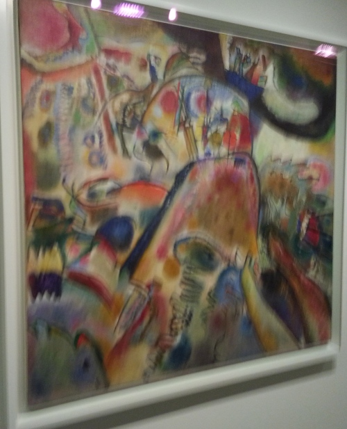 Simple pleasures.  Kandinsky.