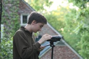 Our esteemed cinematographer Jack McGraw.