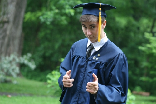 Jack, high school? check. photo A. Barley