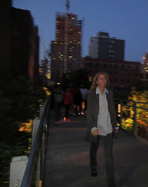 High line stroll.
