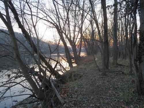 A walk by the Shenandoah
