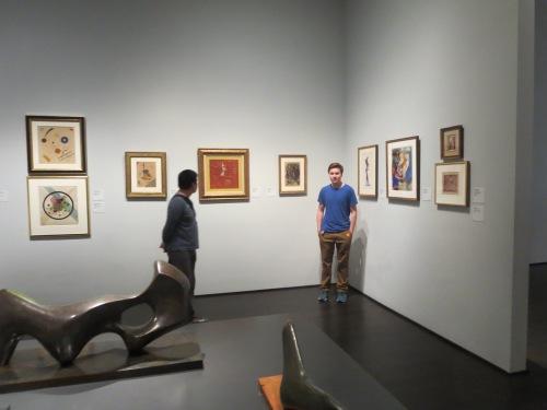 Eli and Kandinsky