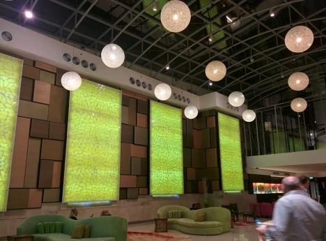 Traders hotel lobby