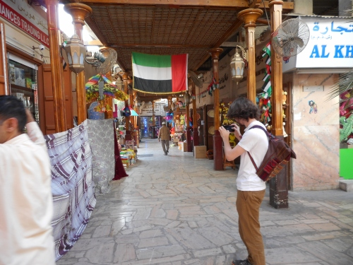 heading to spice souk.