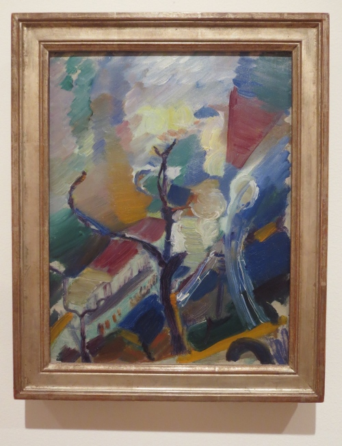 This is not Kandinsky. Painted at the same time tho.