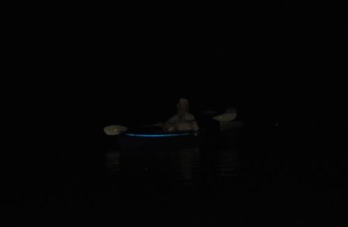 Night river runner too
