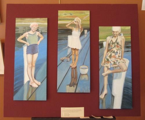 The bathers troika