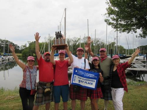 Team Tartan takes the Leukemia Cup