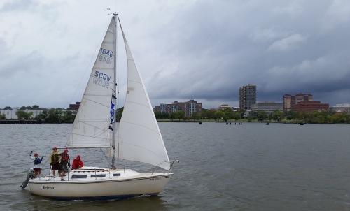Team Tartan on the water: 2015