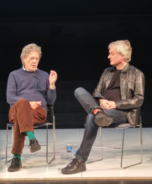 Tom Stoppard and Dave Chalmers