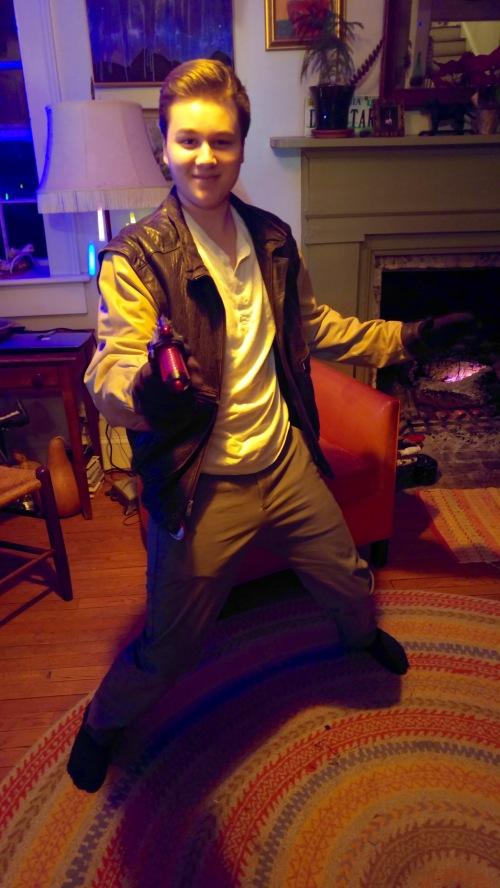 Eli as Han Solo
