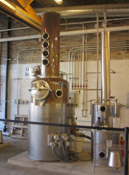 Gin takes a second distillation plus an infusion.