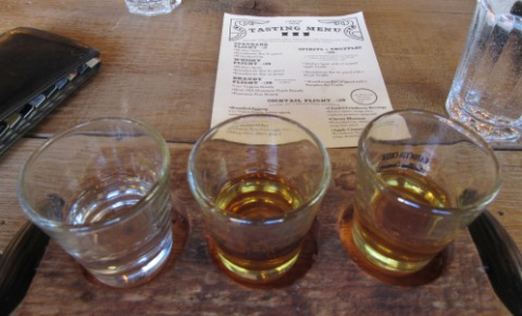 Custom flight: Gin and Two Ryes