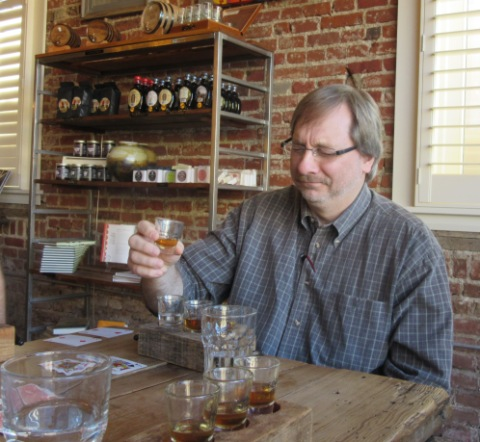 What does Sammy think of the Brandy?